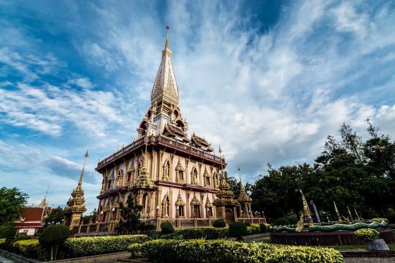 Phuket island chalong temple