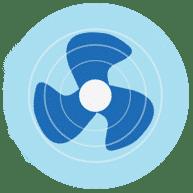 공기 환기 제공 COVID-19